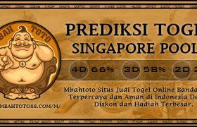 Prediksi Togel Singapura 09 Januari 2020