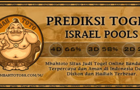 Prediksi Togel Israel 19 Januari 2020