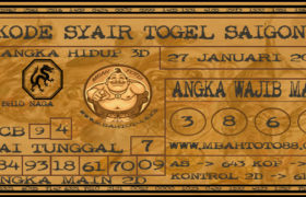 Syair Togel Saigon 27 Januari 2020