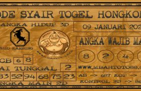 Syair Togel Hongkong 09 Januari 2020