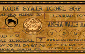 Syair Togel Singapura 13 Januari 2020