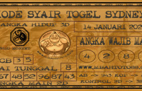 Syair Togel Sydney 14 Januari 2020