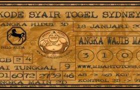 Syair Togel Sydney 18 Januari 2020