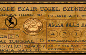 Syair Togel Sydney 19 Januari 2020