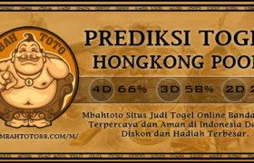 Prediksi Togel Hongkong 23 Maret 2020