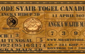 Syair Togel Canadia 11 April 2020