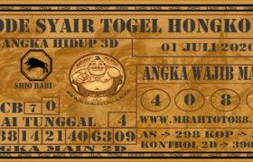 Syair Togel Hongkong 01 Juli 2020