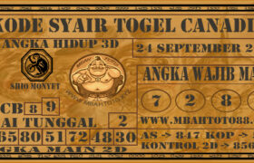 Syair Togel Canadia 24 September 2020