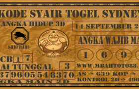 Syair Togel Sydney 14 September 2020