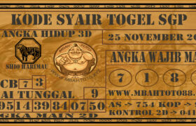 Syair Togel Singapura 25 November 2020