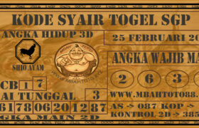 Syair Togel Singapura 25 Februari 2021
