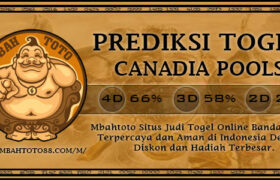 Prediksi Togel Canadia 26 Februari 2021