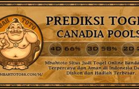Prediksi Togel Canadia 06 Maret 2021